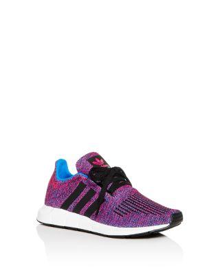 Adidas Girls' Swift Run Knit Low-Top