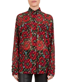 The Kooples - Poppy Print Muslin Shirt
