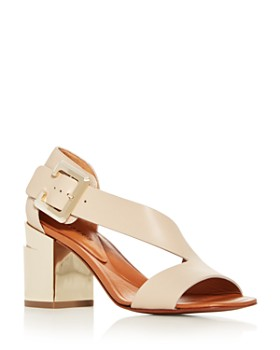 26cbe790dfcd Clergerie - Women s Abstract Block-Heel Sandals ...