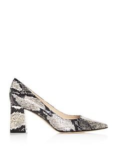 Marc Fisher LTD. - Women's Zalas Pointed-Toe Block-Heel Pumps