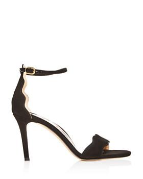 MARION PARKE - Women's Fiona Scalloped High-Heel Sandals