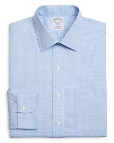 Brooks Brothers - Glen Plaid Regular Fit Dress Shirt