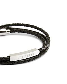 Ted Baker - Basser Triple Strand Logo Bar Wrap Bracelet