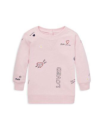 Ralph Lauren - Girls' Printed Atlantic Terry Sweatshirt - Baby