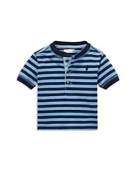 093365083b5 Ralph Lauren - Boys  Stripe Cotton Jersey Henley - Baby ...