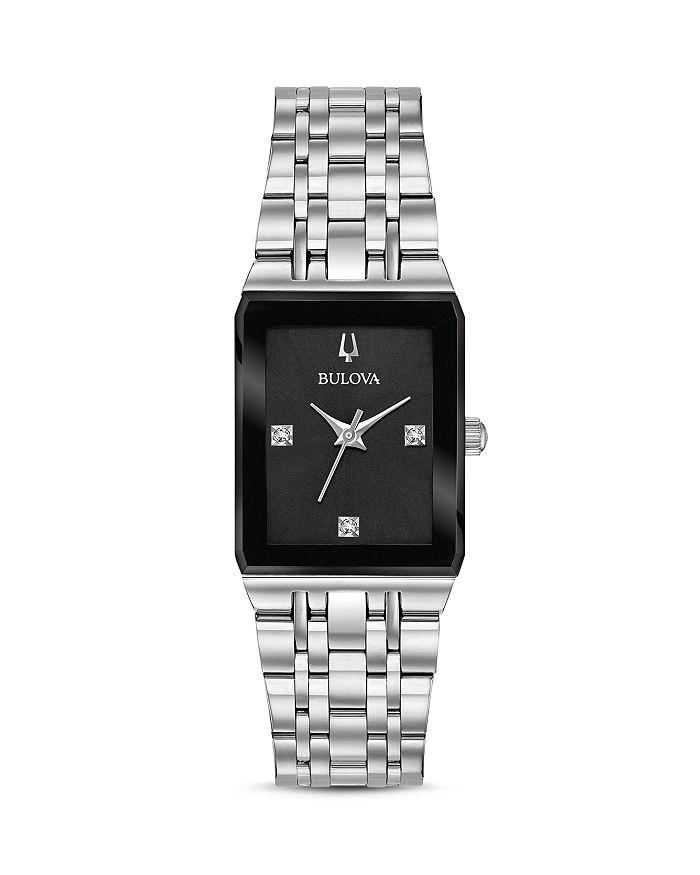 Bulova - Futuro Quadra Link Bracelet Watch, 20mm x 32mm