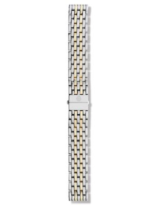Deco Two Tone 7 Link Watch Bracelet, 16 18mm by Michele