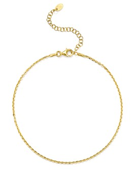 Argento Vivo - Curb Chain Anklet