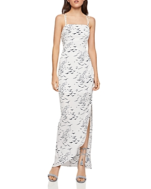 Bcbgeneration Dresses Printed Strappy Back Maxi Dress