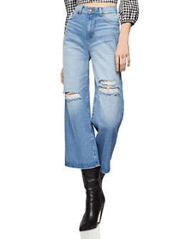 BCBGENERATION - Distressed Cropped Jeans in Destructed