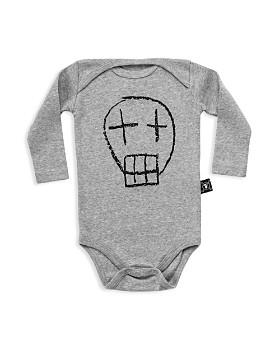 NUNUNU - Unisex Sketched Skull Bodysuit - Baby