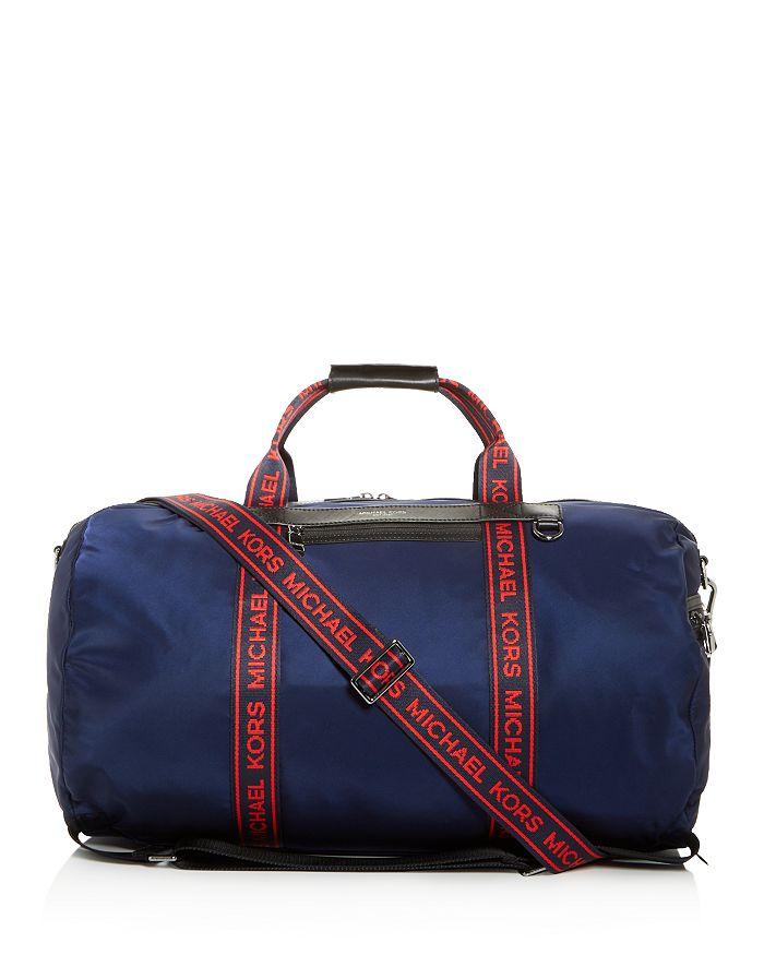 63e8b375876b Michael Kors - Kent Logo Convertible Duffel Backpack