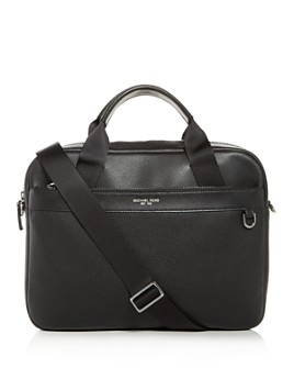 Michael Kors - Bryant Pebbled Leather Briefcase
