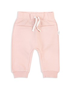 Miles Child - Girls' Organic-Cotton Basic Jogger Pants - Little Kid