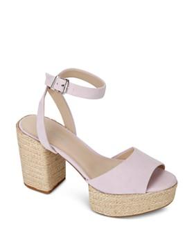 Kenneth Cole - Women's Phoenix High Block Heel Platform Sandals