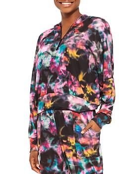 Terez - Tie-Dye Hooded Sweatshirt