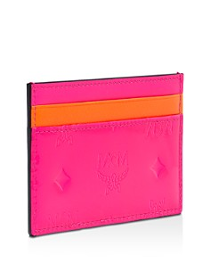 MCM - Klara Monogrammed Leather Card Case