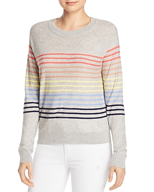 Splendid Sweaters RAINBOW-STRIPE SWEATER