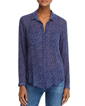 Bella Dahl - Hipster Floral Shirt