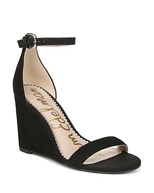Sam Edelman Sandals WOMEN'S NEESA WEDGE HEEL SANDALS
