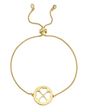 kate spade new york - Clover Heart Adjustable Bracelet