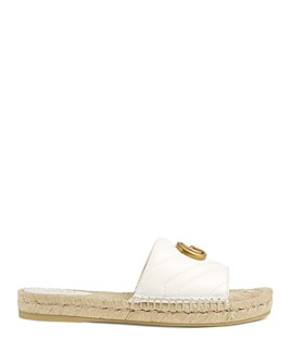 Gucci - Women's Leather Espadrille Sandals