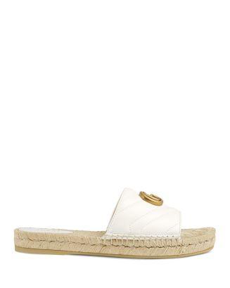 Gucci Shoes Women's Leather Espadrille Sandals