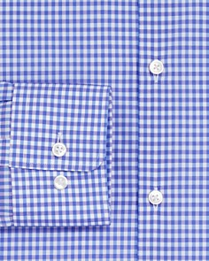HUGO - Gingham Regular Fit Dress Shirt