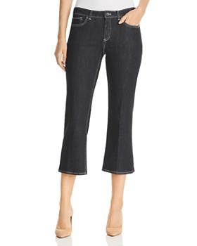 ddcc17b3c659b2 Elie Tahari - Gianina High Rise Cropped Flared Jeans in Indigo ...