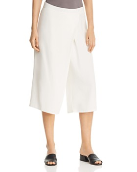 Eileen Fisher Petites - Cropped Wide-Leg Pants - 100% Exclusive
