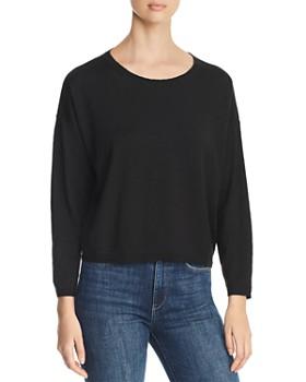 549d8263646f9 Eileen Fisher - Lightweight Cropped Sweater ...
