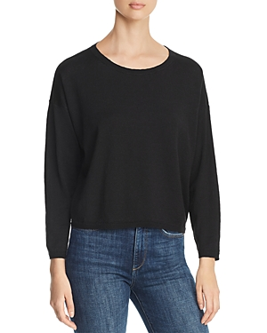 Eileen Fisher Sweaters LIGHTWEIGHT CROPPED SWEATER