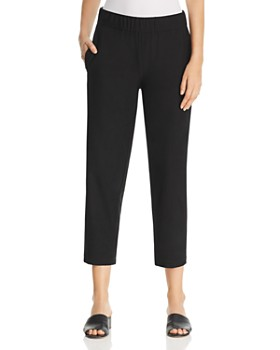 Eileen Fisher - Cropped Straight-Leg Pants