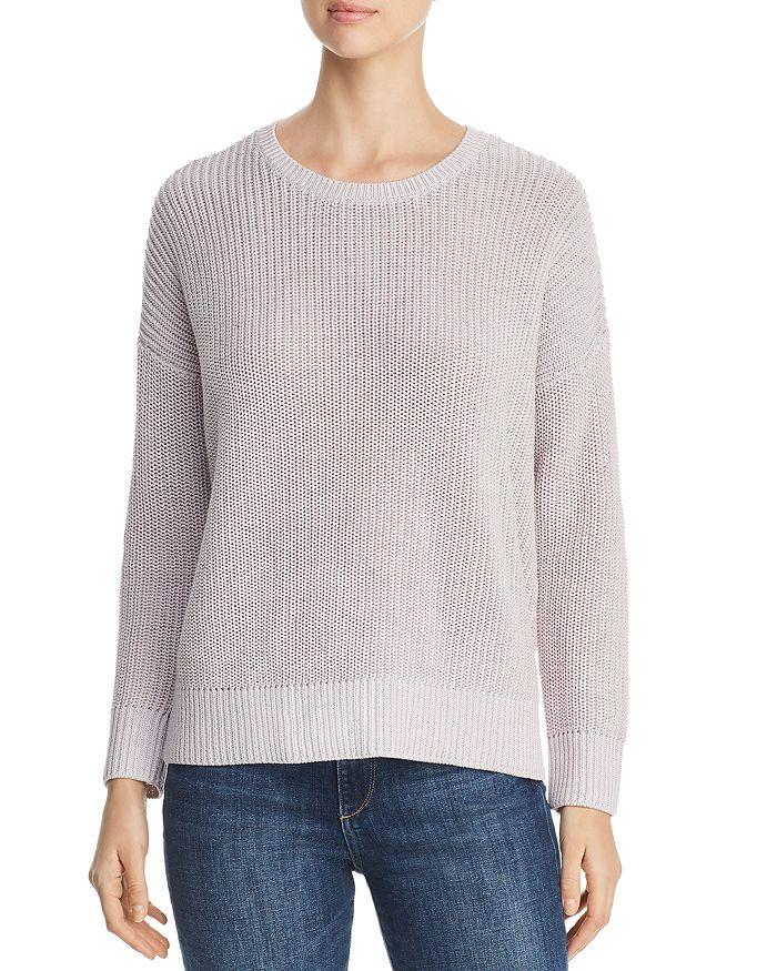 Eileen Fisher - Organic Cotton Shaker-Knit Sweater