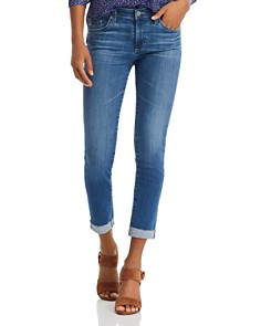 AG - Prima Cuffed Skinny Jeans in 15 Years Affinity - 100% Exclusive