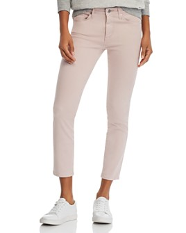 AG - Prima Crop Skinny Jeans in Peaked Pink - 100% Exclusive