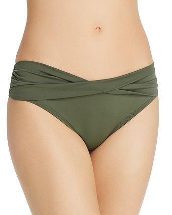 Tommy Bahama - Pearl Hipster Twist Bikini Bottom