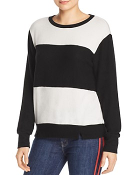 LNA - Brushed Block Stripe Sweater - 100% Exclusive