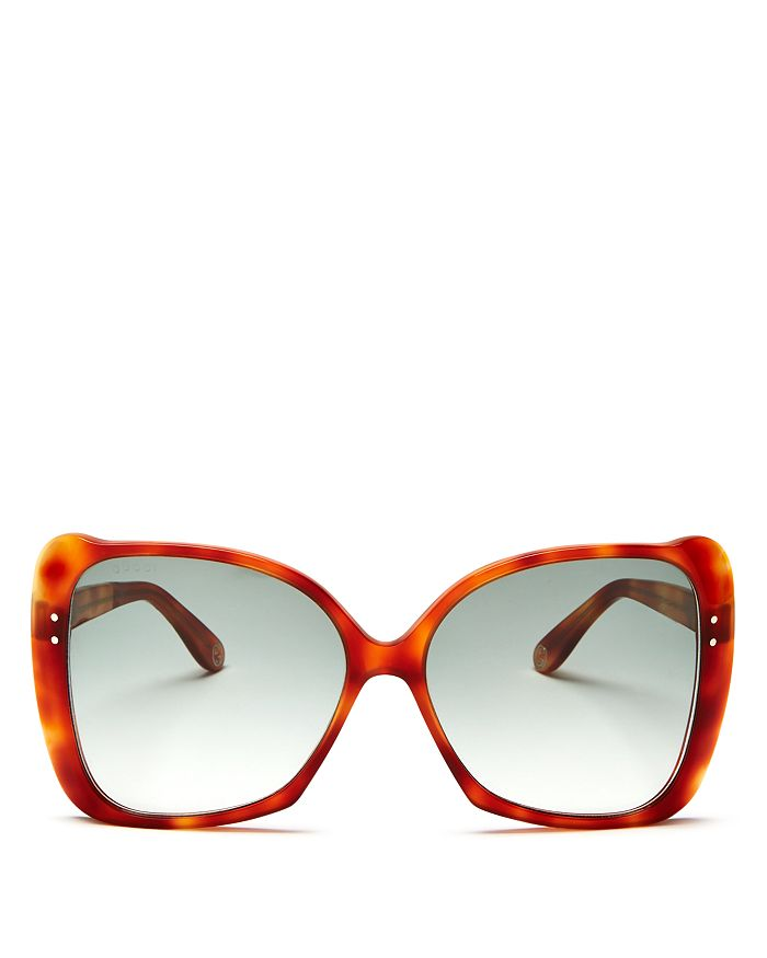 458133751 Gucci Women's Oversized Square Sunglasses, 56mm | Bloomingdale's