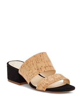 VINCE CAMUTO - Women's Caveera Block Heel Sandals
