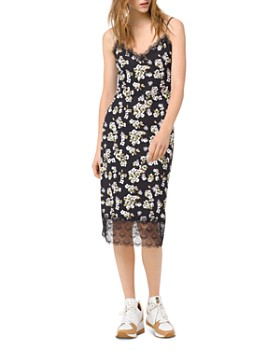 MICHAEL Michael Kors - Glam Fleur Midi Slip Dress