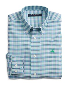 Brooks Brothers - Golden Fleece® Boys' Grid-Check Sport Shirt - Big Kid
