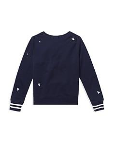 Ralph Lauren - Girls' Polo Atlantic Terry Sweatshirt - Big Kid