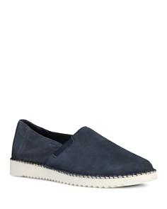 Geox - Men's Dayan Suede Slip-On Sneakers