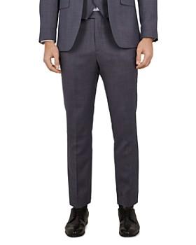 095106eee8c9 Ted Baker - Bekdebt Debonair Birdseye Slim Fit Suit Trousers ...