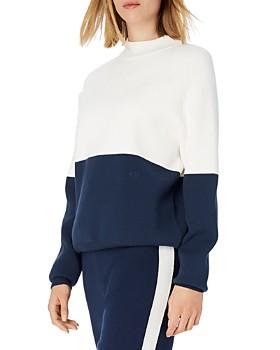 b7802e44121f0 Tory Sport - Color-Block Sweater ...