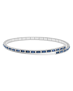 "Atelier Swarovski - Core Collection Fluid Azzurro Skinny Choker Necklace, 11"""