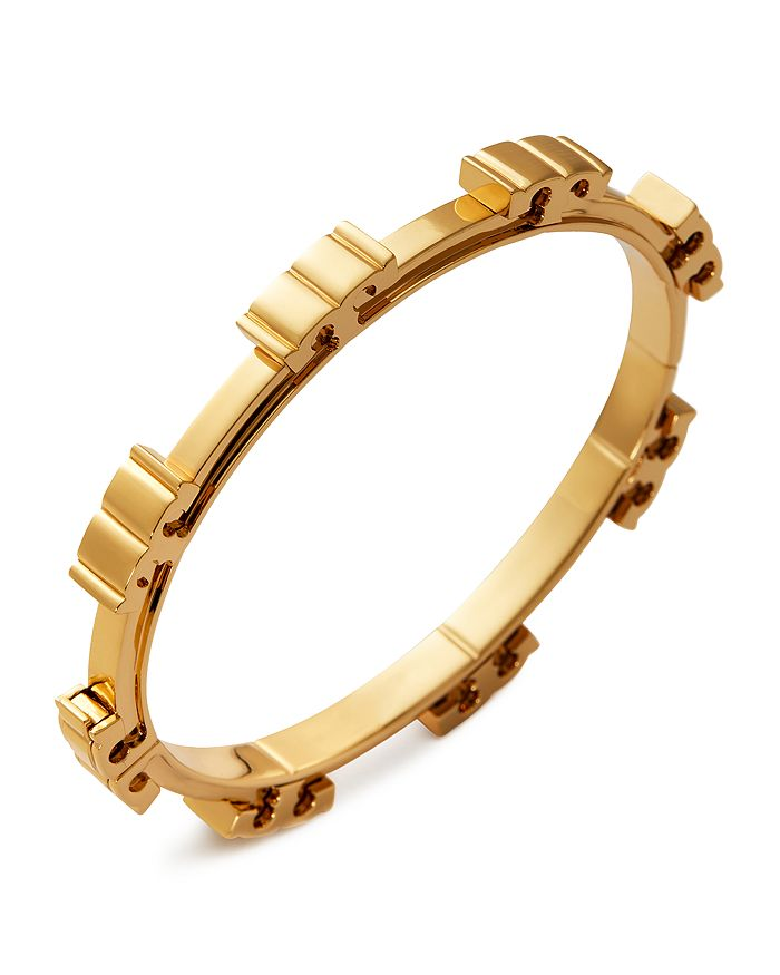 Tory Burch - Serif T Bangle Bracelet