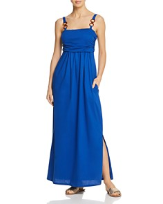 Max Mara - Oscuro Ring Maxi Dress Swim Cover-Up