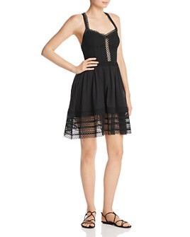Charo Ruiz Ibiza - Cecelia Cross-Back Mini Dress